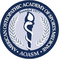 AOASM (American Osteopathic Academy of Sports Medicine) logo