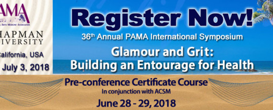 2018 PAMA International Symposium