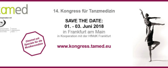 Call for Abstracts > The German Association for Dance Medicine (tamed)